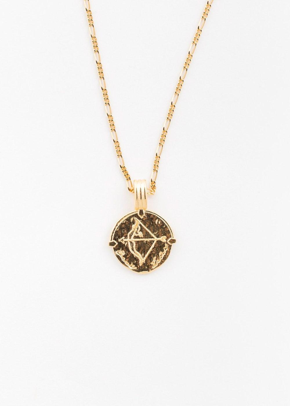 DEUX LIONS Sagittarius necklace