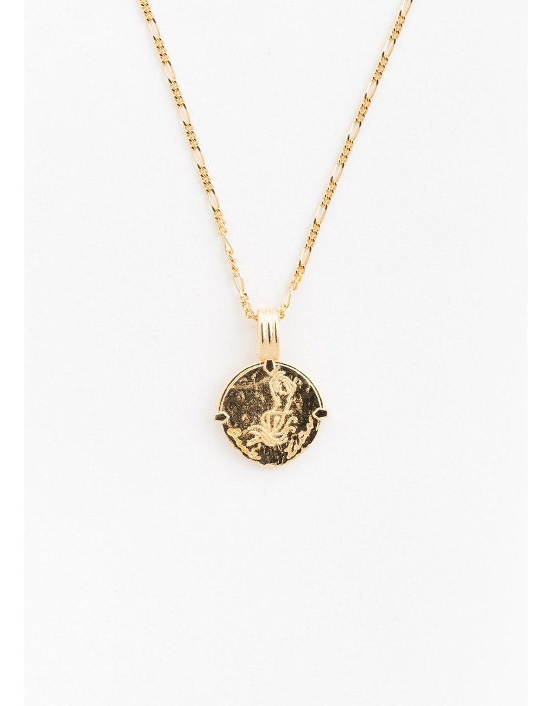 DEUX LIONS Capricorn necklace