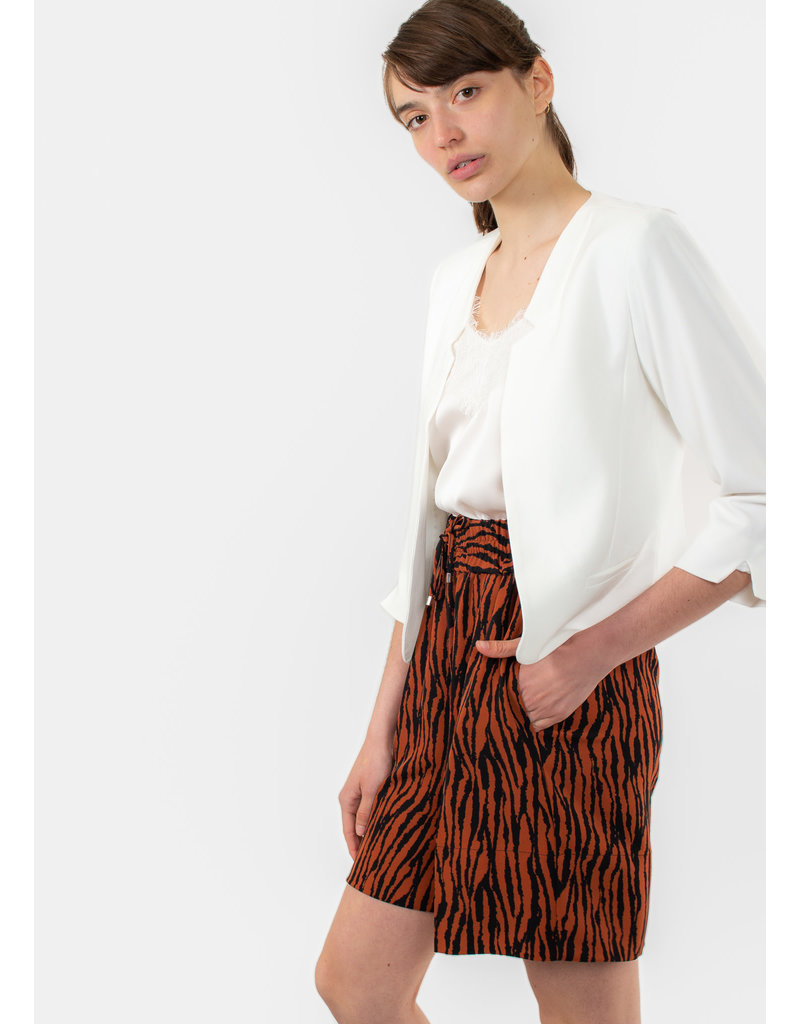InWear Quiana short big zebra