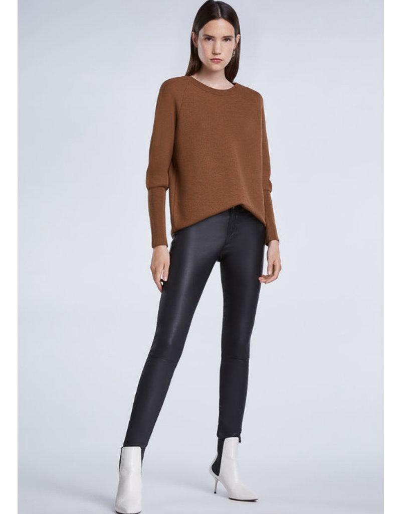 SET Fine-knit crew-neck sweater
