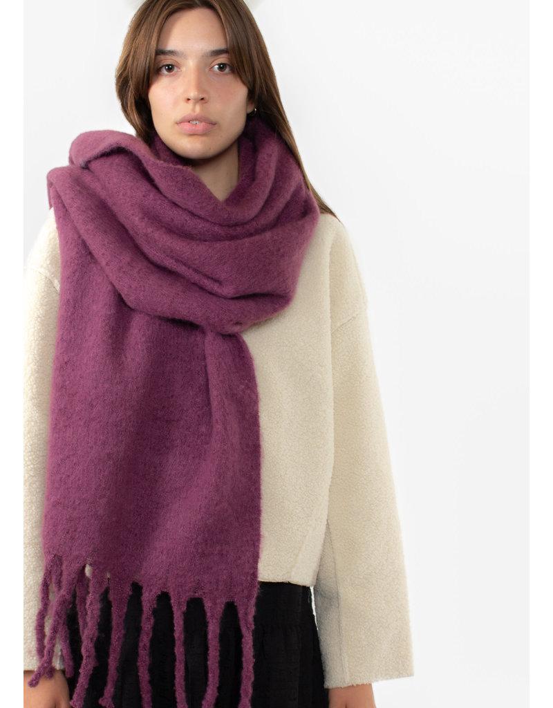 ICHI Brew scarf violet