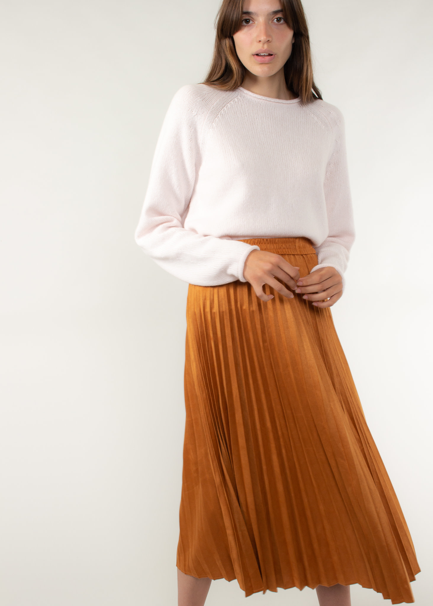The Korner Camel skirt