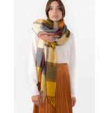 The Korner Beige-yellow scarf