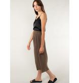 YAYA Midi skirt with pleats