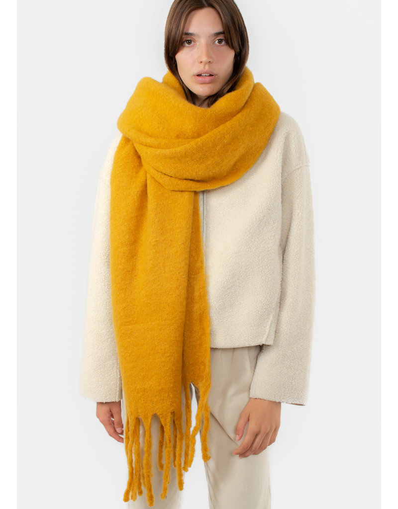 The Korner Yellow scarf