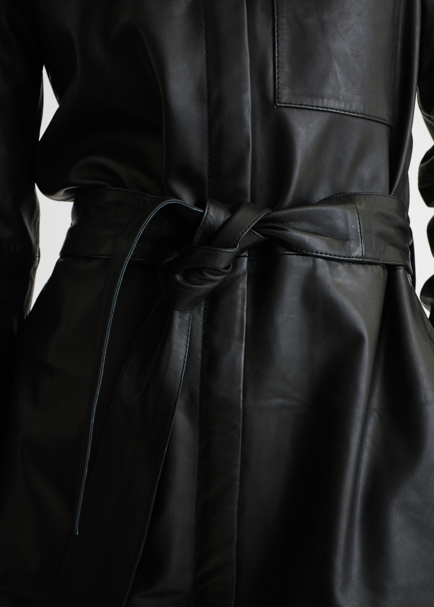 InWear Vinga leather dress