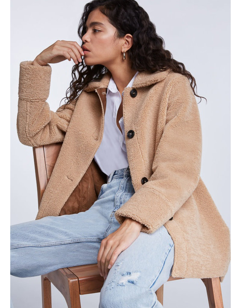 SET Oversized Teddyfell Jacket