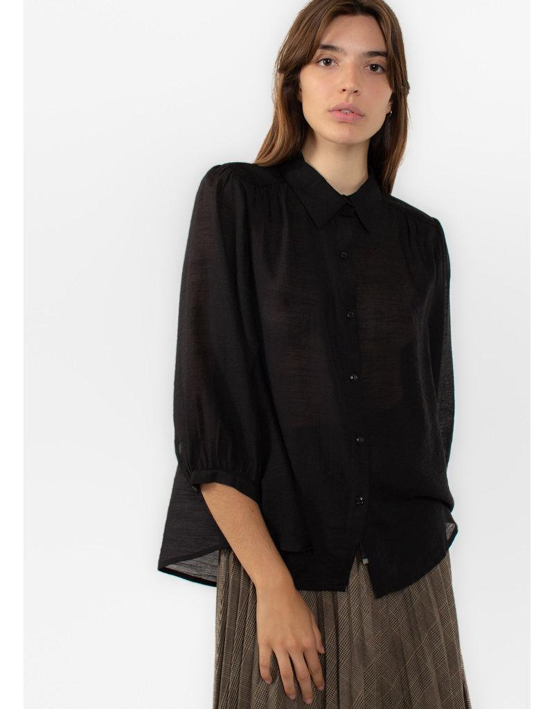 The Korner Black blouse