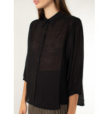 The Korner Black blouse