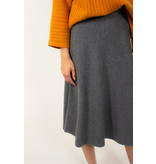 REPEAT Cashmere grey skirt