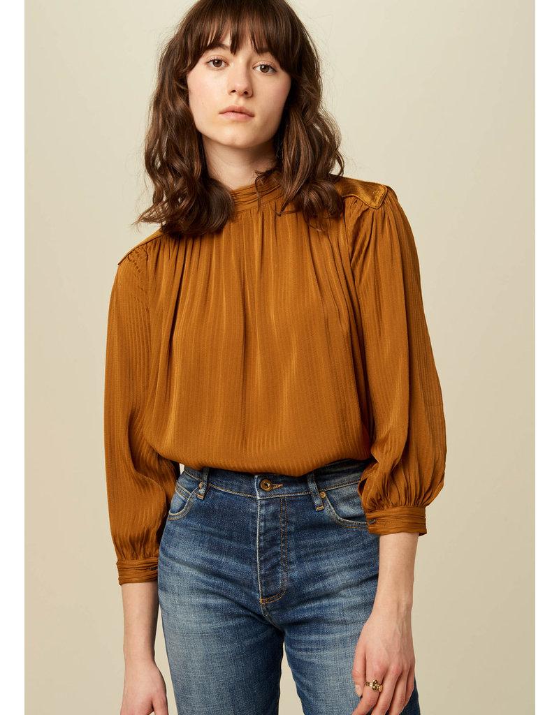Sessùn Maggie blouse ambre