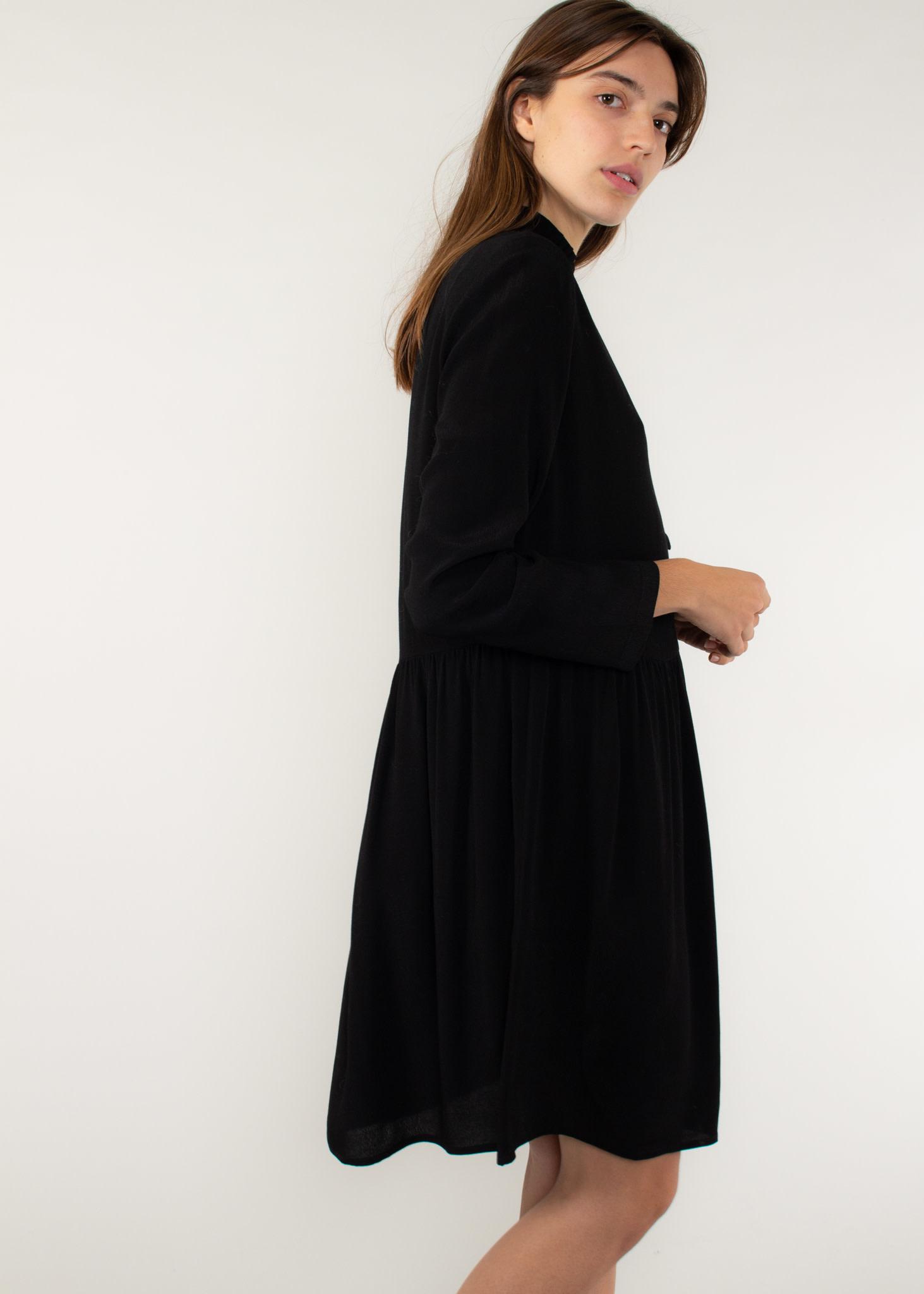 DES PETITS HAUTS Salma robe noir
