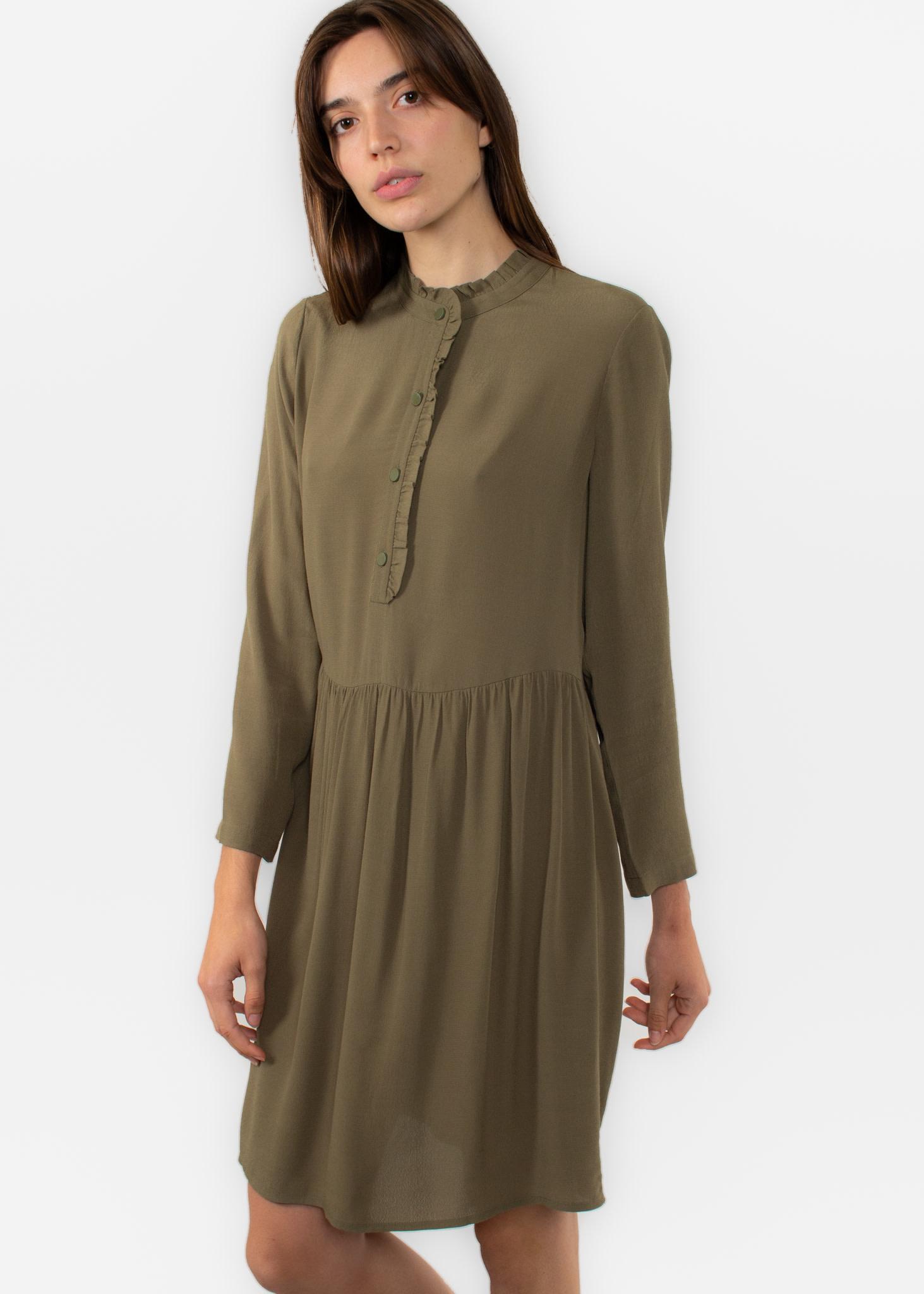 DES PETITS HAUTS Salma robe fougère