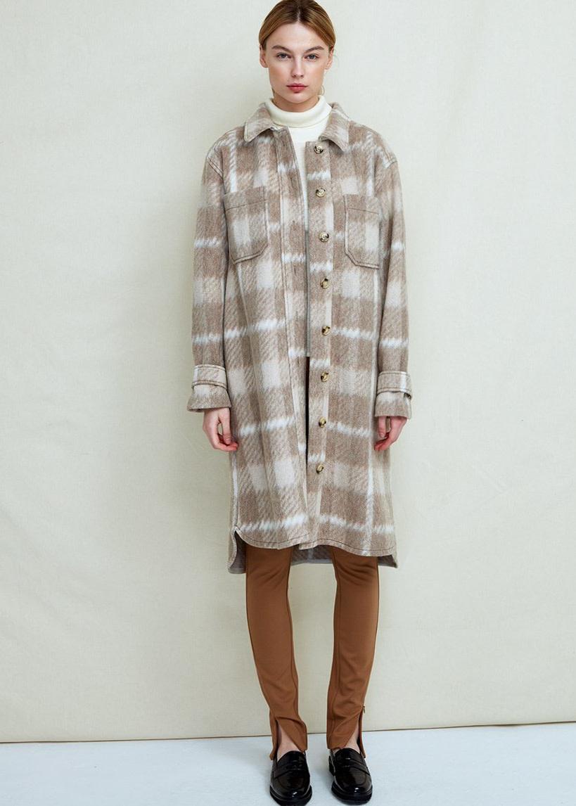 FWSS Sealiner wool long jacket