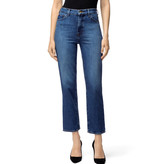 JBrand Jules high rise straight denim