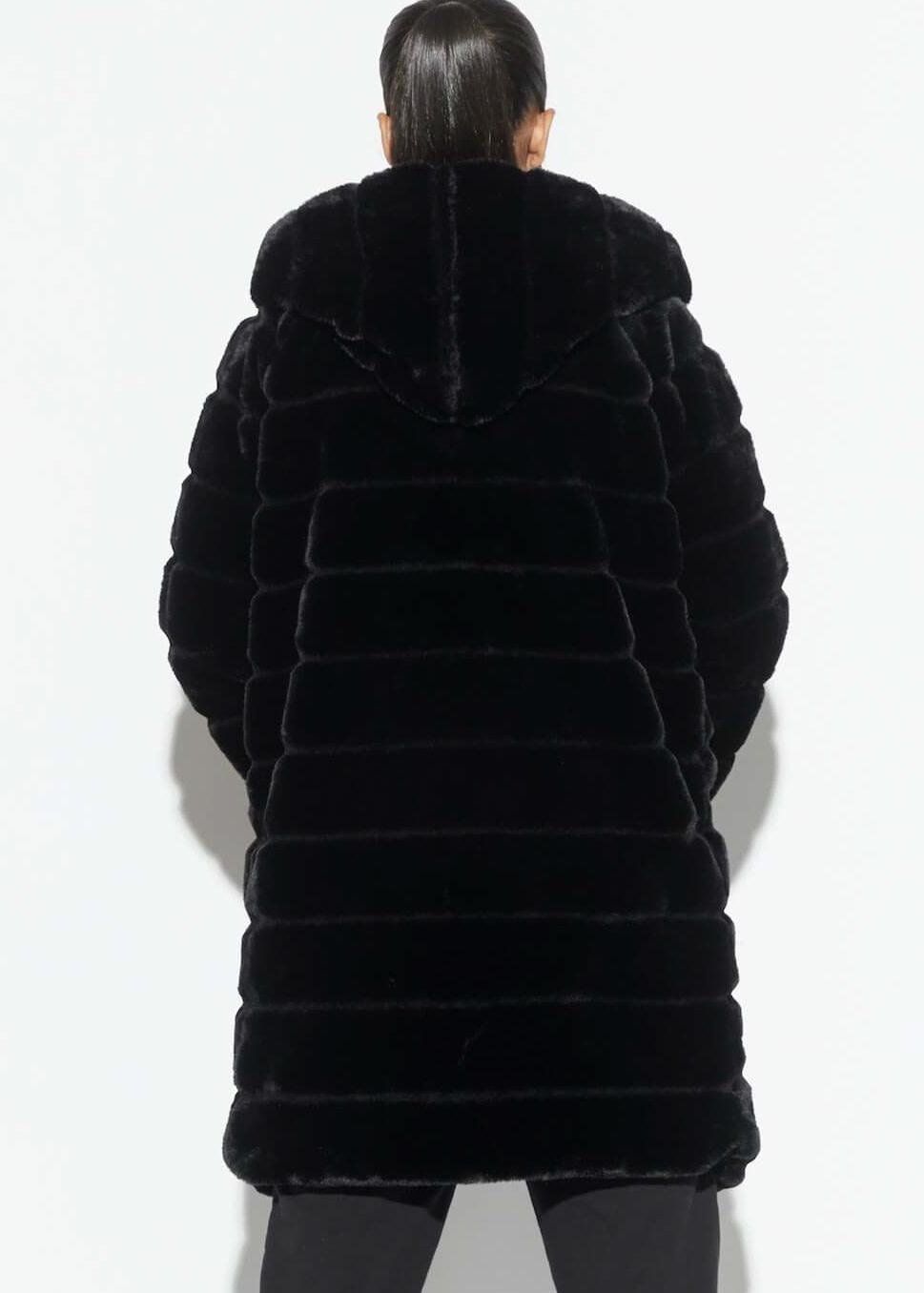 APPARIS Celina hooded jacket black
