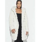 APPARIS Celina hooded jacket ivory