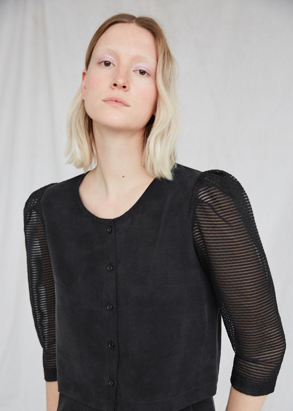 EVE GRAVEL Morning dew blouse