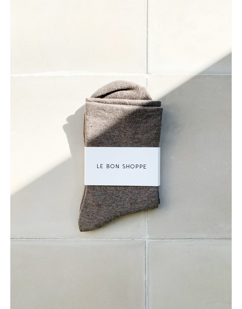 Le Bon Shoppe Sneaker socks cocoa