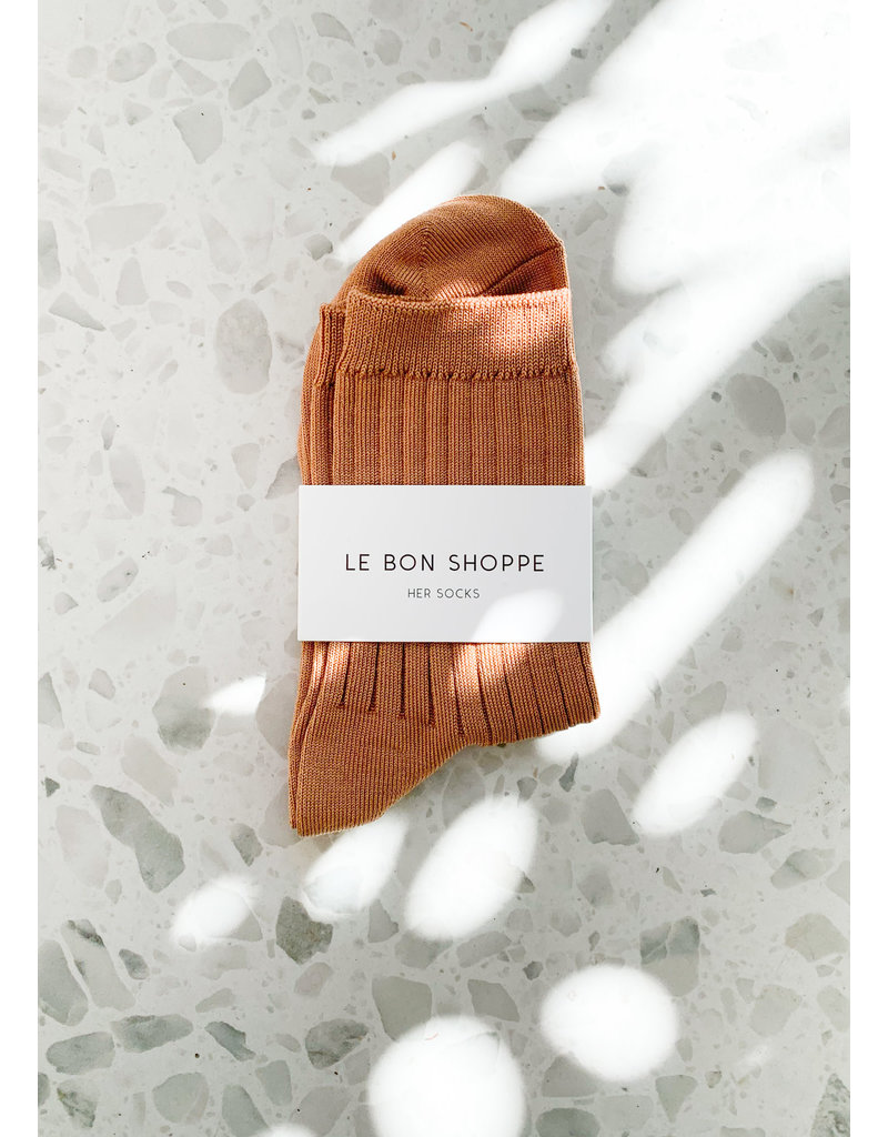 Le Bon Shoppe Her socks peanut butter