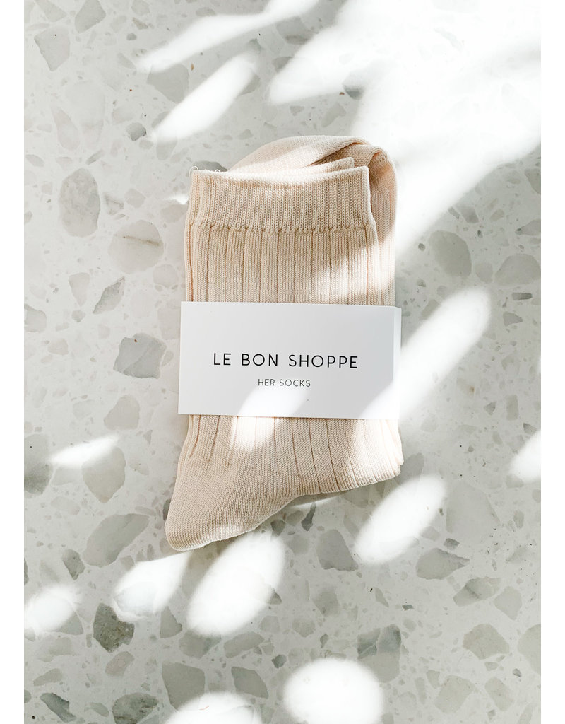Le Bon Shoppe Her socks porcelain