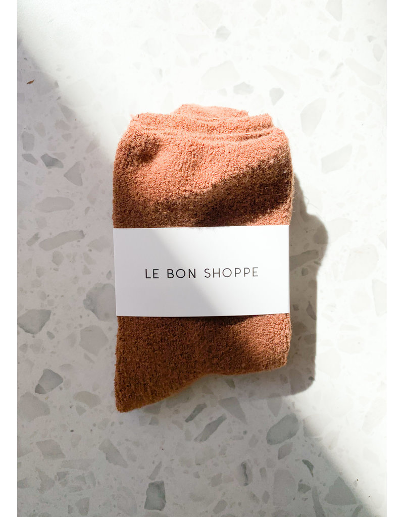 Le Bon Shoppe Cloud socks sepia