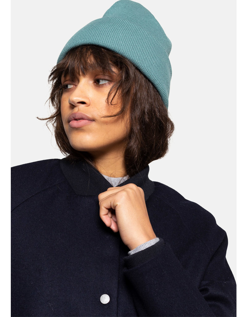 SELFHOOD Beanie dust green