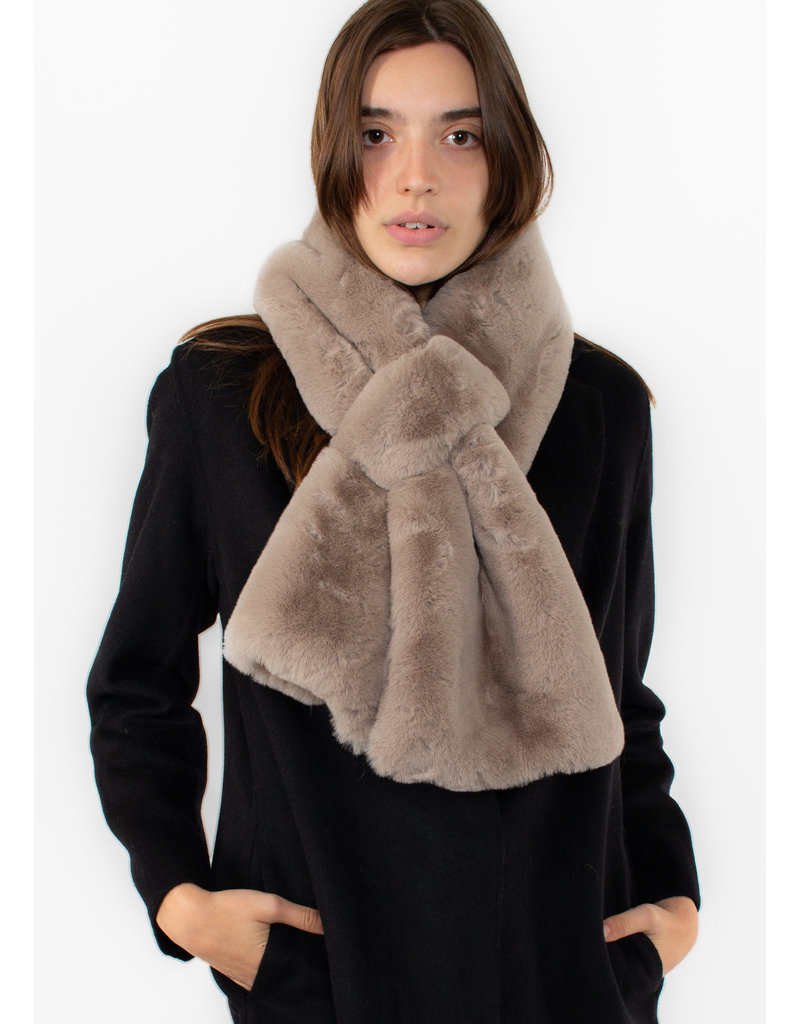 APPARIS Luna scarf taupe