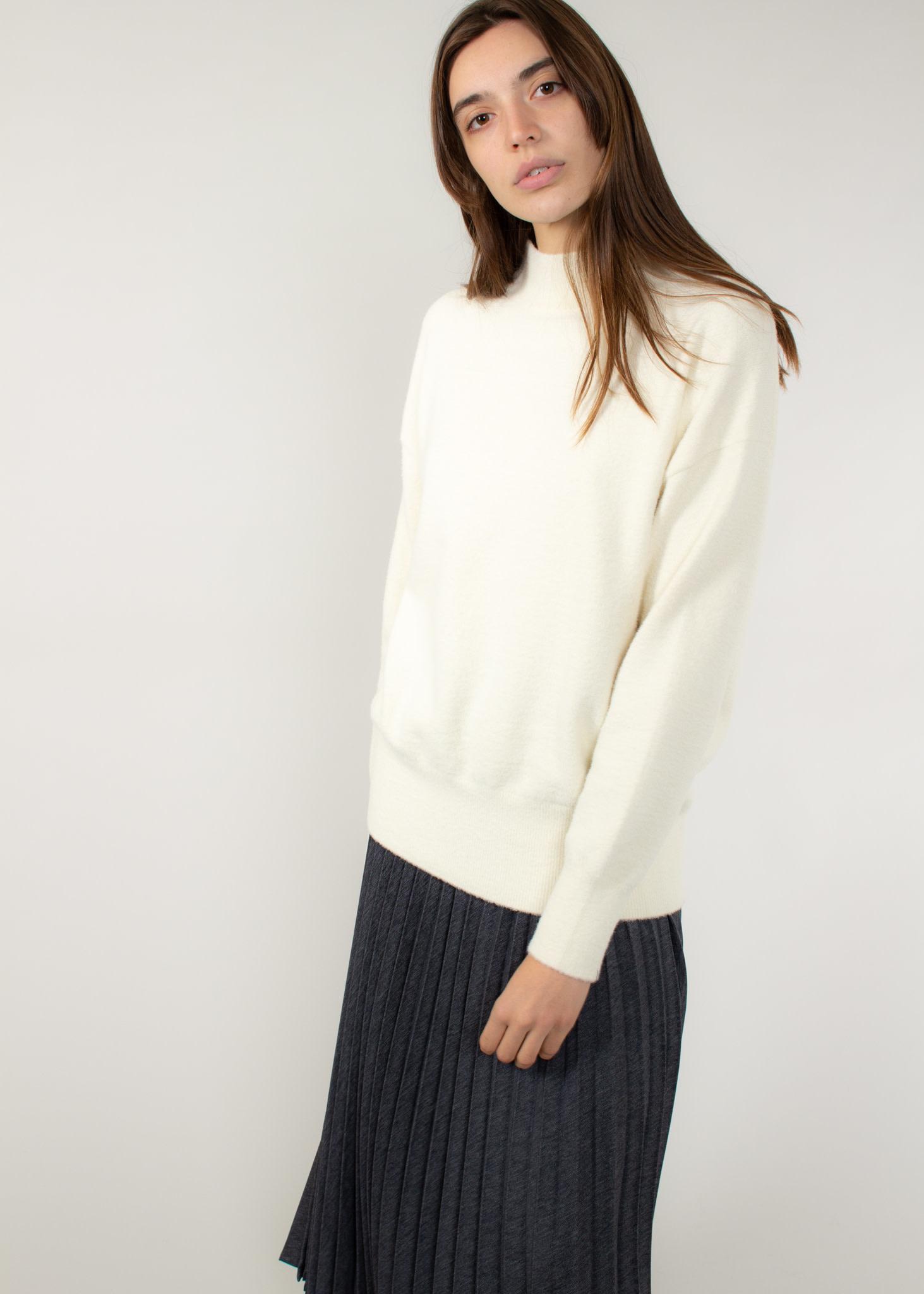 YAYA Brushed high neck sweater