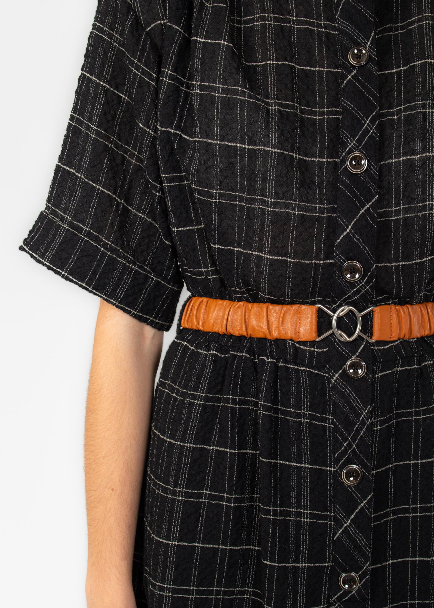 InWear Morgan belt leather brown