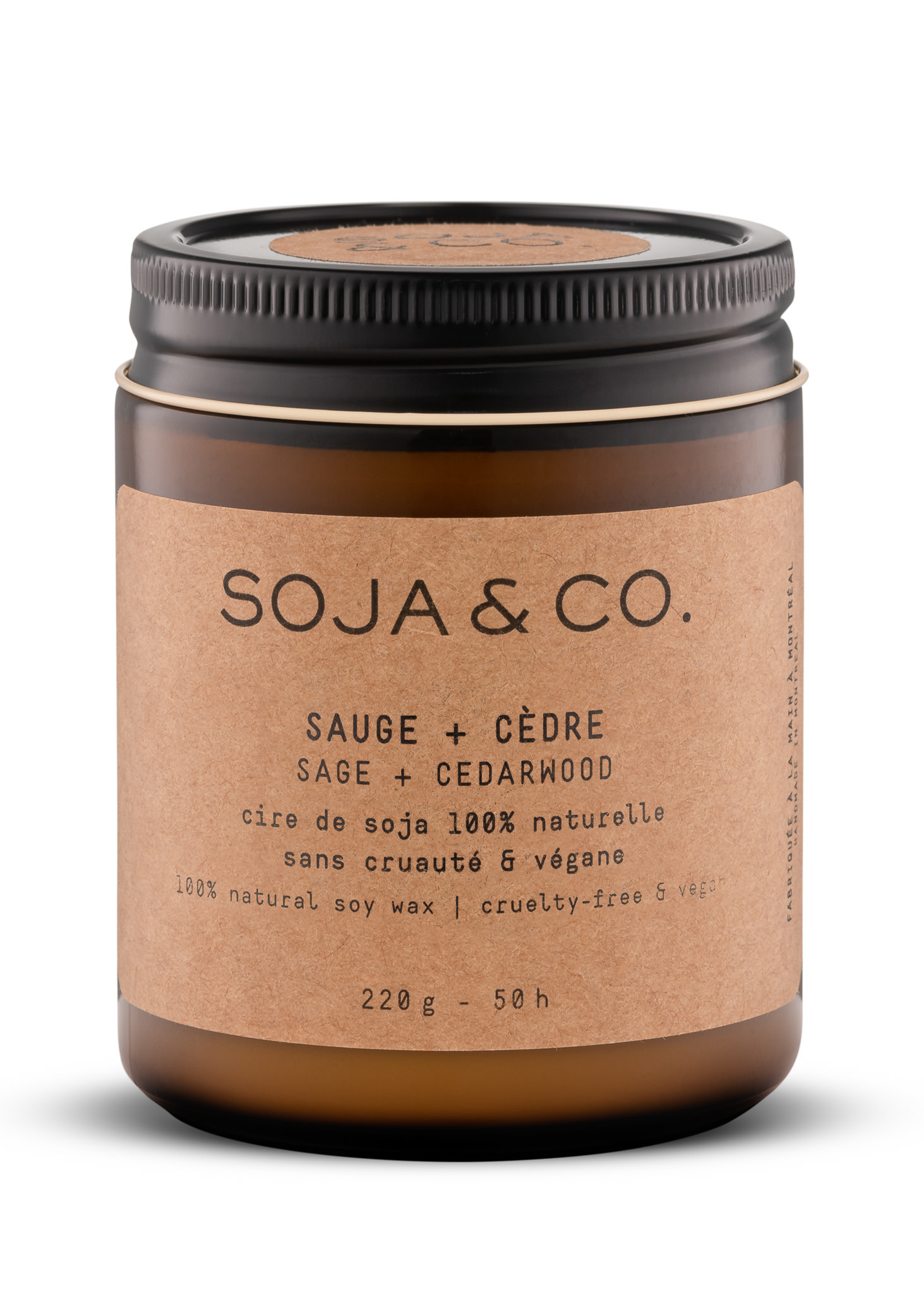 SOJA & CO Bougie Sauge + Cèdre