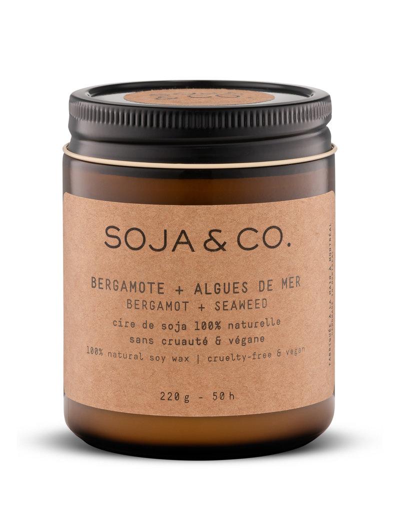 SOJA & CO Bougie bergamote + algues de mer