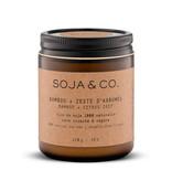 SOJA & CO Bougie bambou + zeste d'agrumes