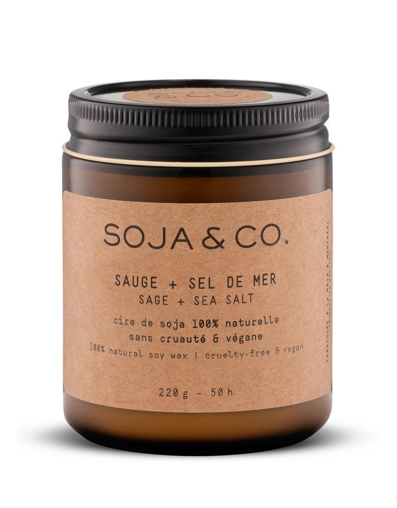 SOJA & CO Bougie sauge + sel de mer