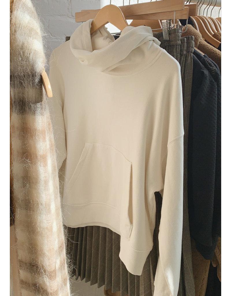 VELVET Ora fleece hoodie