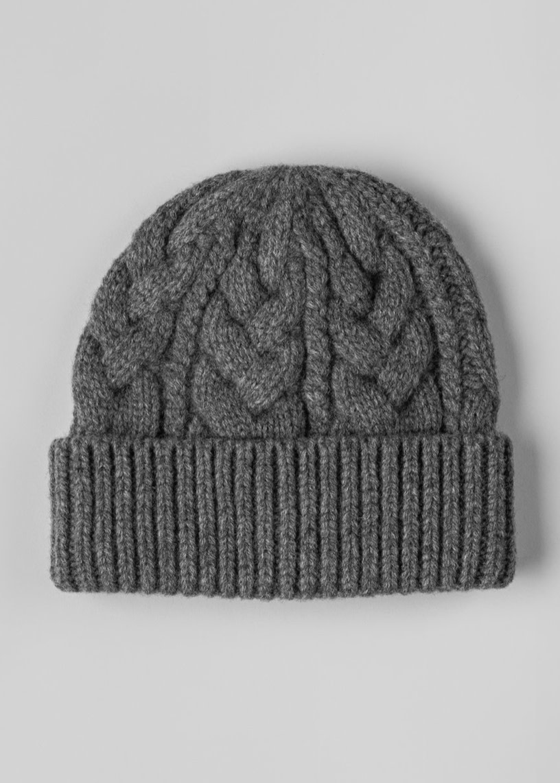 FWSS Baltic hat charcoal gray