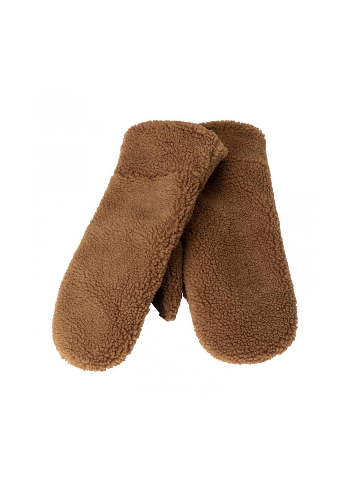 YAYA Lammy mittens camel