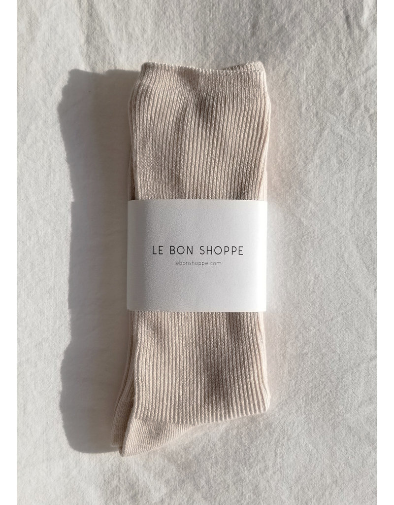 Le Bon Shoppe Trouser socks eggnog