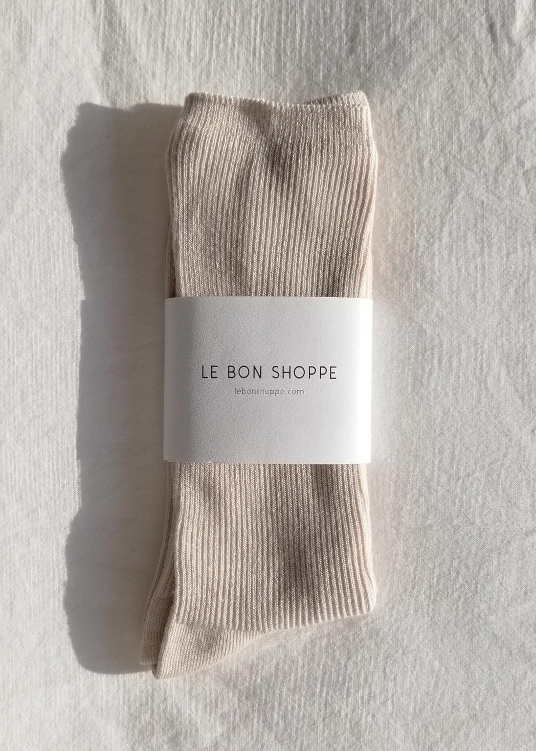 Le Bon Shoppe Trouser socks eggnog