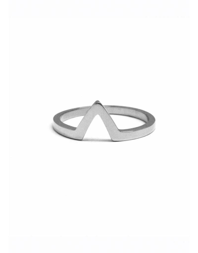 MAKSYM Bague triangle