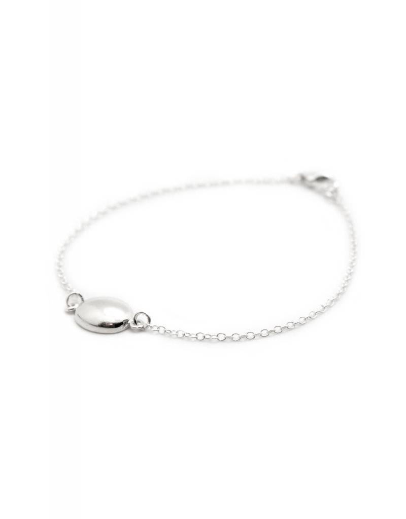 TIFFANY KUNZ Petite Oval bracelet