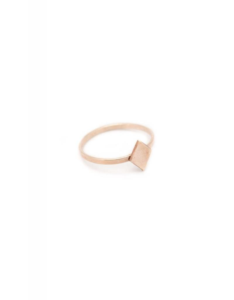 NASHELLE Losange ring
