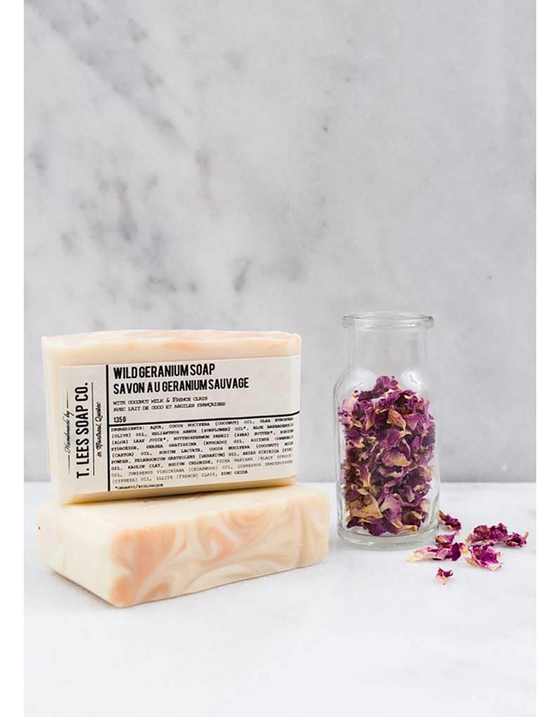 T.Lees Wild geranium soap
