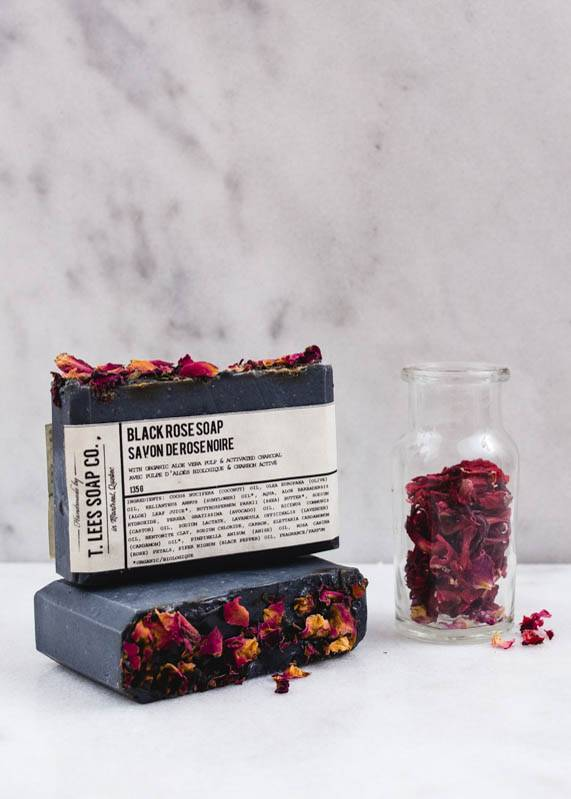 T.Lees Black rose soap