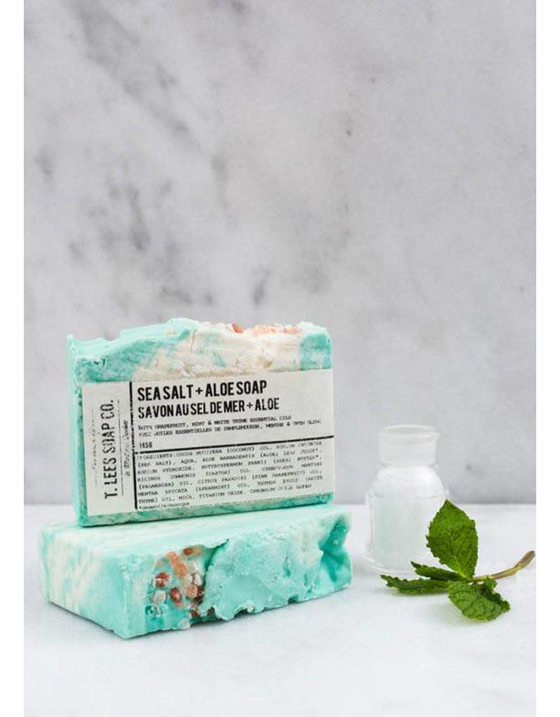 T.Lees Sea salt & aloe soap