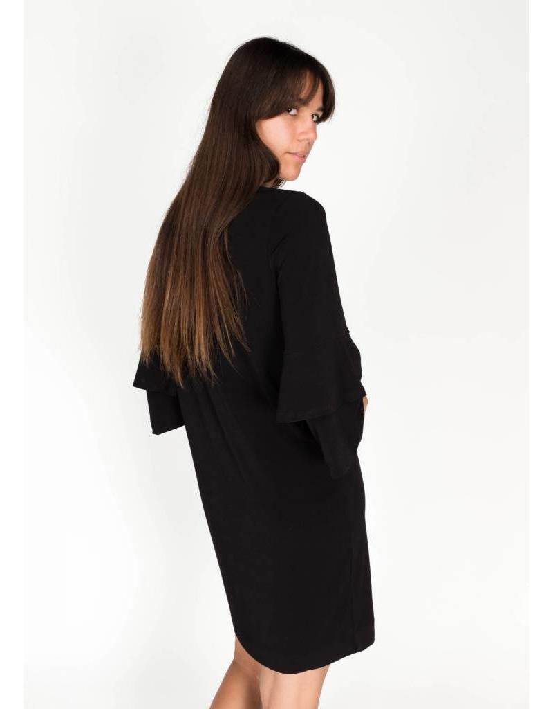 FELIXIA FLOUNCE DRESS