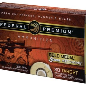 Federal Ammunition Federal 223 Gold Match 69gr 20 per box