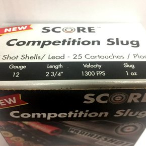 Lanz SCORE 12 G. COMPETITION SLUG Case of 250/rds