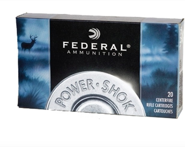 Federal Ammunition Federal Power-Shok Ammunition 7mm-08 Remington 150 Grain Speer Hot-Cor Soft Point Box of 20