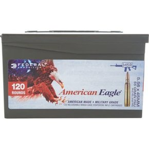 Federal Ammunition American Eagle 5.56x54 55gr 120 per box